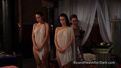 Thai mistress has a threesome with cho men