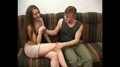 Big Russian Mom In Threeway With A Young Wood Maid