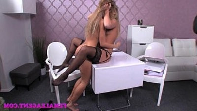 FemaleAgent When agentranssexual collide sexual sparks will fly