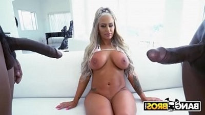 MILF Brandi Bae Gets Double Penetrated By Prince Yahshua and Isiah Maxwell