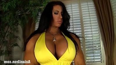 Aziani Iron Angela Salvango female bodybuilder nude