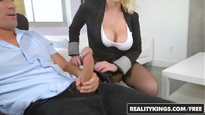 Busty Commando Humiliates Her Boss