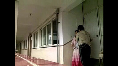 Chinese school teacher in sports skirt Niko loves to strokes hymen