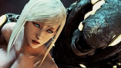 samus fucked by a big monster black cock