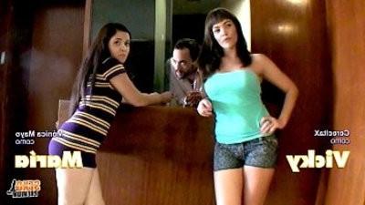 Yoha Galvez y Jorge Fernandez. VencindarioX Trailer Cap