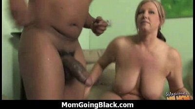 Beefcake black monster thick cock fucks pretty good white pussy