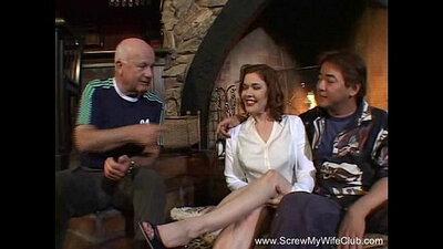 Redhead Melina Filming her Swinger Sister Boston Scott