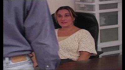 Chubby amateur spanking