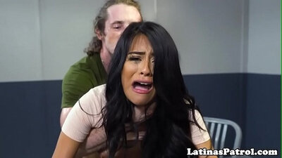 Toyed latin chick drilled roughly