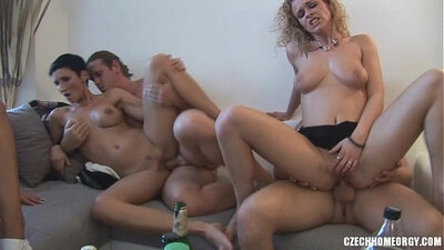 Brothers party porn in orgy gets homemade porn