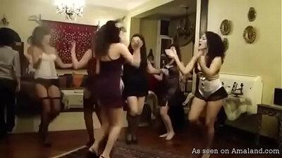 Arab dance xxx man films girlfriend in anal session