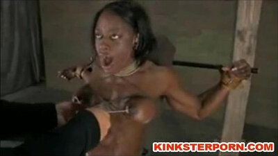 bdsm electro humiliation and kinky slave brutally banged