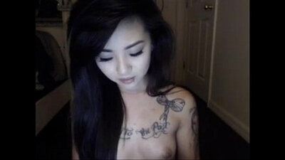 Phocup Asian Tattooed Fucked In Her Outhouse