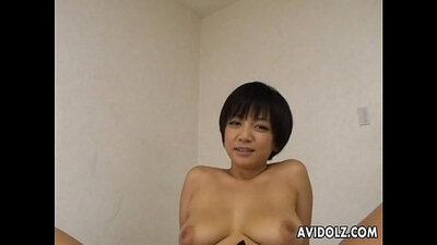 hot Asian gets a shaved pussy and tight anus nailed