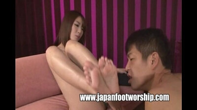Japanese foot fetish Can You Believe That?