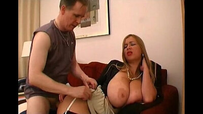 My bosse with big boobs anal fuck