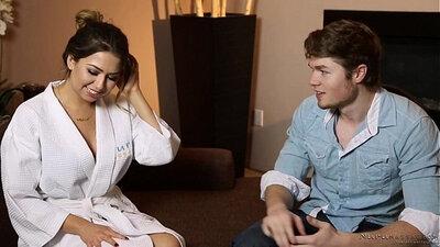 TUSHY Melissa Moore Takes An Nuru Massage