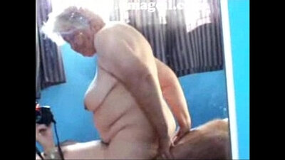 Cock riding granny undress tooled on board cars