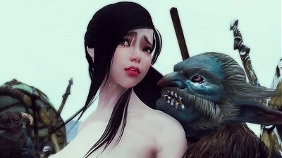 Sexy hentai cutie becomes gangbanged