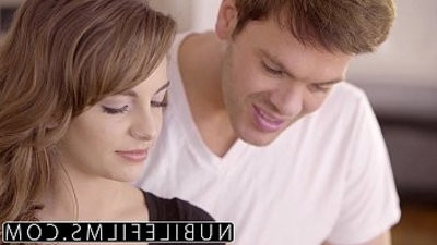 Romantic sex for Kimmy Granger ends up with facial