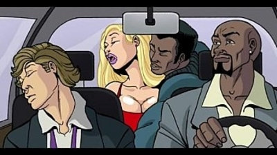 Interracial Cartoon flick