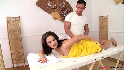 Massage euro anal copulation
