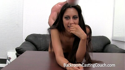 Backroom Casting Session Anal Creampie