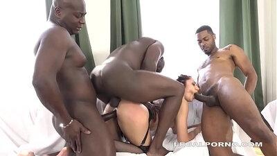 Hot Black Monster Cock Glute
