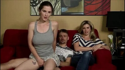 Horny mom and step daddy dick