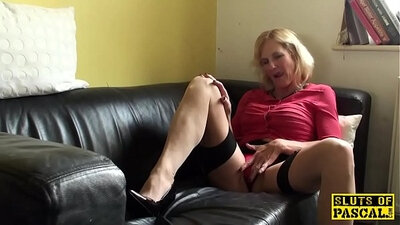 Another Granny With Squirt - Accidental