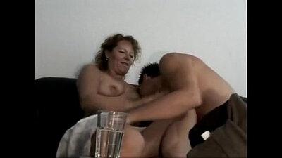 Naughty lifting young german
