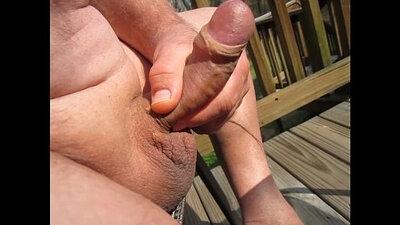 Hungry grandpa s biggest bitch full of cum