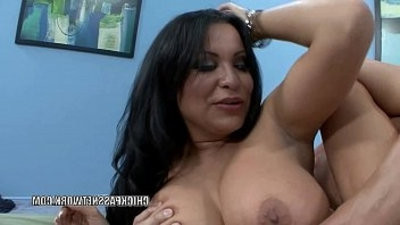 Latina MILF Sophia Lomeli fucks and eats all the spunk