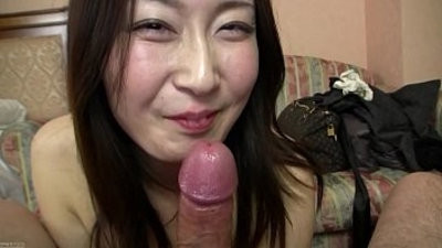 Subtitled Japanese model hopeful Point of view deep throatjob in HD