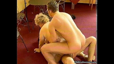 Younger and older slut who visit the double agent