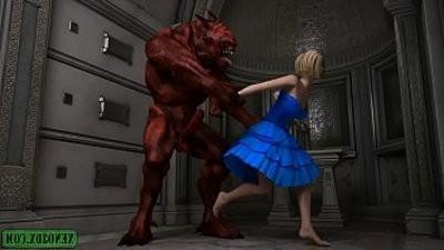 Demonic Possessions. 3D Monster lovemaking