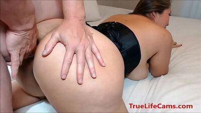 Tat Shaggy Ass Asian cocksucking and fucks big creampie