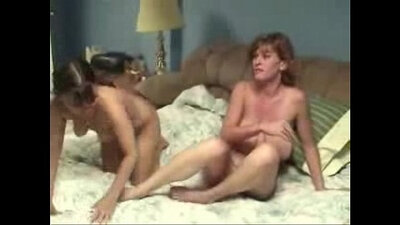 Amateur lesbian wife pussy licking and rough sex