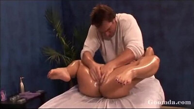 blondie gets massages and energy therapy