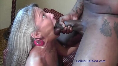Leilani Lei and Cayenne Starr suck cock and give head