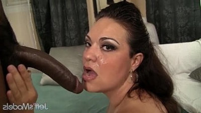 Horny Mexican lusher Angelina hardcore interracial hookup