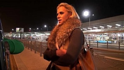 Big Titty mummy Airport Pick up and Fuck her hard in Mea Melone van