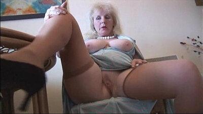 Mature stockings bitch stripper farting