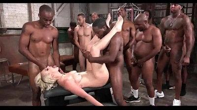 Blonde German Wife Fucked Black Cock Anal