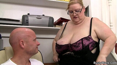Big Titted Klaudia Fucking the Boss