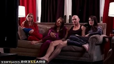 Real slut Wife Stories hoe Wives scene starring Jennifer White, Madison Scott, Nika Noire