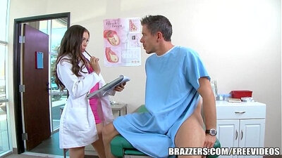 Big cock nurse gets bustedjob