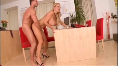 Busty Secretary in Alaska Gets Fucked