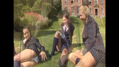 Attractive Canadian Redhaired Girl School Young Riding Her Load