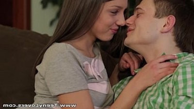 Teeny Lovers Foxy Di ass is a masterpiece teen porno